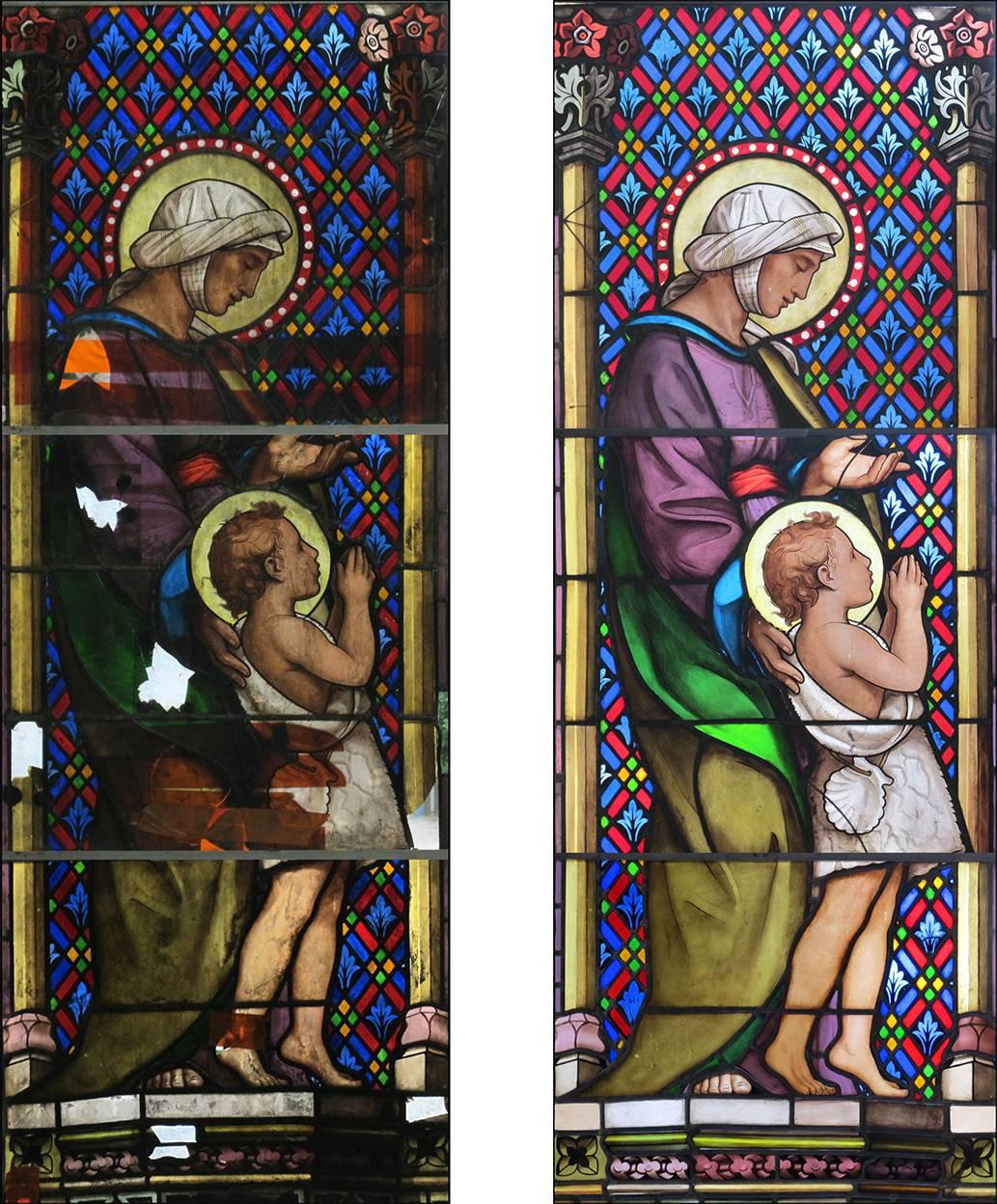 restauration église saint mathieu